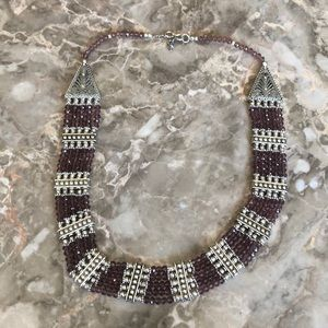 Jewelry - Purple Bead Necklace